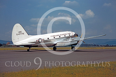 C-46ANG 00001 Curtiss C-46 Commando Pennsylvania Air National Guard 477715 by Warren D Ship