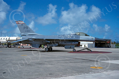 F-16ANG 00183 Lockheed Martin F-16 Fighting Falcon Puerto Rico Air National Guard 82981 by Paul H Minert via AASS