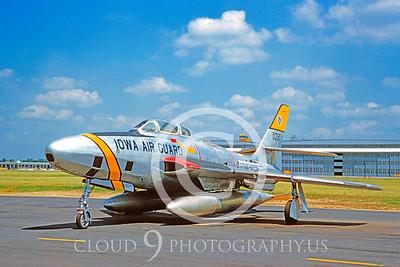 RF-84F-ANG 00001 Republic RF-84F Thunderstreak Iowa ANG by Clay Jansson S