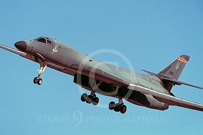 B-1ANG 00002 Rockwell B-1 Lancer Kansas Air National Guard 'Thunder' Dec 2001 by Peter J Mancus