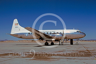 T-29ANG 00001 Convair T-29B Samaritan South Dakota Air National Guard 50301 MCAS Yuma April 1982 by Peter J Mancus