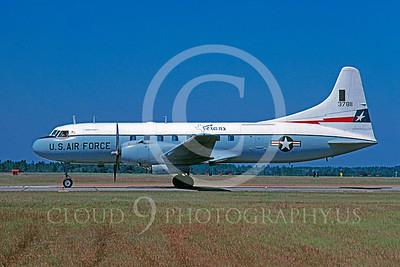 C-131ANG 00011 Convair C-131 Samaritan Texas Air National Guard 37811 Tyndall AFB October 1980 by Peter J Mancus