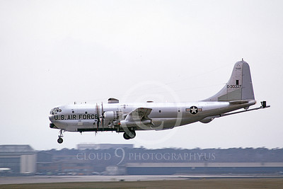 KC-97ANG 00016 A landing Boeing KC-97L Stratotanker Texas ANG 30327 3-1973 military airplane picture by Wilfreid Zetsche