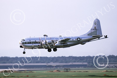 KC-97ANG 00020 A landing Boeing KC-97L Stratotanker Texas ANG 30360 6-1972 military airplane picture by Patrick Bullock