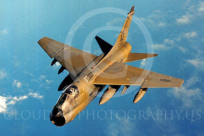 A-7ANG 00010 Vought A-7D Corsair II Arizona Air National Guard 75394 by Peter J Mancus