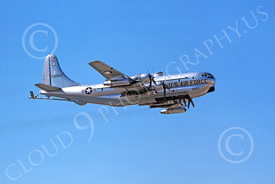 KC-97ANG 00024 A flying Boeing KC-97L Stratotanker Wisconsin ANG 20902 11-1974 military airplane picture by Michael Grove, Sr