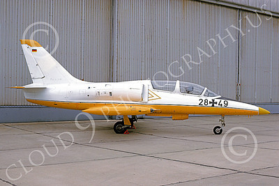 L-39 00001 A static Aero Vodochody L-39 Albatross German Air Force 28 49 7-1991 military airplane picture by Wilfried Zetsche