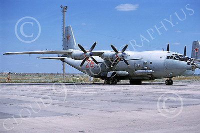 An-12 00005 A static Antonov An-12 Cub Soviet Air Force transport 9-1997 military airplane picture by Wilfreid Zetsche