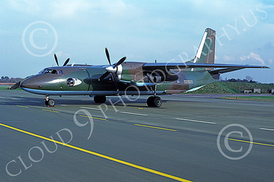 An-26 00004 A static Antonov An-26 Curl German Air Force 10-1990 military airplane picture by Lutz Tonne
