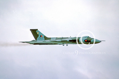Avro Vulcan 00014 Avro Vulcan British RAF XM574 June 1979 by Stephen W D Wolf