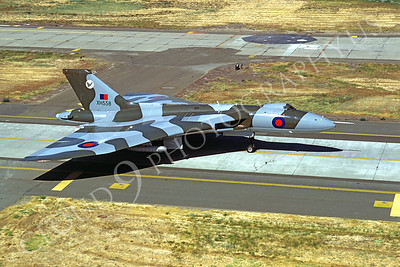 Avro Vulcan 00001 Avro Vulcan British RAF XH558 by Carl Porter
