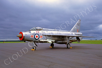 BAC Lightning F-2 00005 BAC Lightning F-2 British RAF June 1971 by Brian Stainer