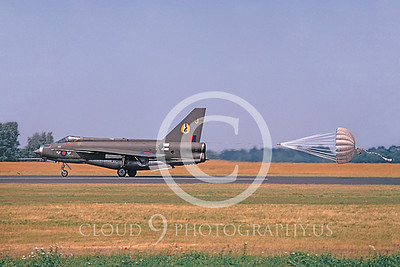 CHUTE 00078 BAC Lightning II English RAF 23 June 1974 by Lief Hansen