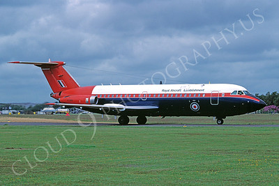 BAC One Eleven 00003 BAC One Eleven British RAF XX919 Royal Aircraft Establishment 3 June 1988 by John Coupland