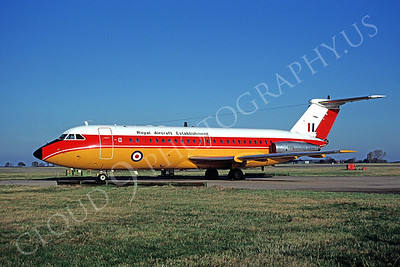 BAC One Eleven 00001 BAC One Eleven British RAF Royal Aircraft Establishment XX105 November 1991 by Peter J Mancus