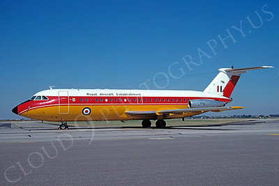 BAC One Eleven 00007 BAC One Eleven British RAF XX105 September 1991 via African Aviation Slide Service