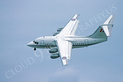 BAE 146 00002 BAE 146 British RAF ZD696 10 September 1983 by Stephen W D Wolf