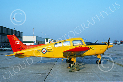 CT-134 00003 A static Beechcraft CT-134 Musketeer Canadian Armed Forces 134245 9-1983 military airplane pictrure by Daniel Soulaine