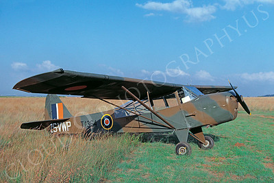 British Taylorcraft Auster V 00001 British Taylorcraft Auster V South African Air Force Colonial Markings TJ364 May 1989 via African Aviation Slide Service