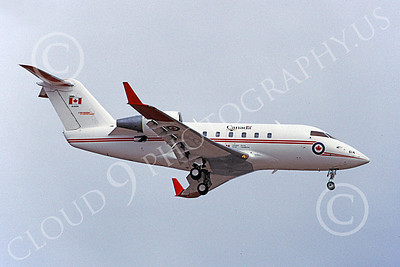 CC-144 00002 A landing Canadair CC-144 Challenger Canadian Armed Forces 144614 3-2003 military airplane picture by Michael Grove, Sr