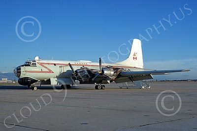 Canadir CP-107 Argus 00017 A static RCAF Canadir CP-107 Argus 721 NAS Moffett 3-1974 military airplane picture by Michael Grove, Sr
