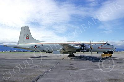 Canadir CP-107 Argus 00011 A static RCAF Canadir CP-107 Argus 716 NAS Moffett 3-1974 military airplane picture by Michael Grove, Sr