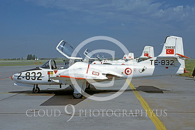 T-37Forg 00001 CessnaT-37 Tweetie Bird Turkish Air Force 11 July 2005 via AASS
