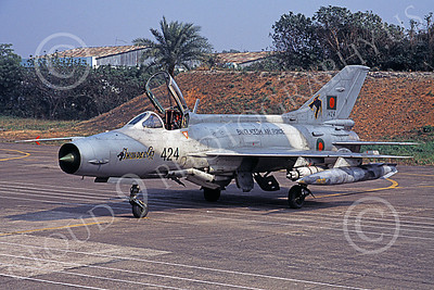Chengdu F-7 00010 A static Chengdu F-7 Fishbed Bangladesh Air Force 427 military airplane picture by Rogier Westerhuis