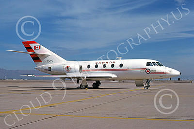 CC-117 00001 A static Dassault-Breguet Falcon Canadian Armed Forces 117505 1-1984 military airplane picture by Brian C Rogers