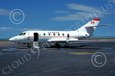CC-117 00003 A static Dassault-Breguet Falcon Canadian Armed Forces 117506 7-1976 military airplane picture by Stephen Soner