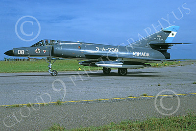 Dassault Super Etendard 00009 A taxing Dassault Super Etendard Argentene Navy 0758 3-2000 military airplane picture by Stenio Bacciocchi