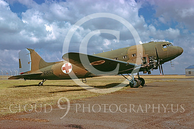 C-47Forg 00037 Douglas C-47 Skytrain South African Air Force via African Aviation Slide Service