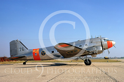 C-47Forg 00033 Douglas C-47 Skytrain Swedish Air Force October 1972 by Clive Moggoridge
