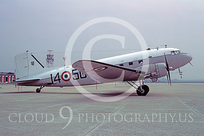C-47Forg 00011 Douglas C-47 Dakota Italian Air Force 1450 April 1981 via African Aviation Slide Service
