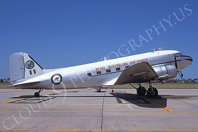 C-47Forg 00008 A static C-47 Skytrain Royal Austrailian Air Force A65-91 2-1988 airplane picture by Kelly Ryan