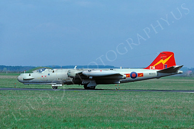 English Electric Canberra 00011 English Electric Canberra British RAF WD955 by Wieland Stolze