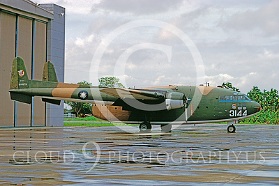 C-119Forg 00001 Fairchild C-119 Flying Boxcar Twainese Air Force 51-8079 September 1996 via African Aviation Slide Service