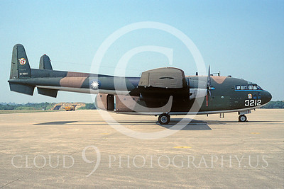 C-119Forg 00003 Fairchild C-119 Flying Boxcar Twainese Air Force 51-8031 October 1995 via African Aviation Slide Service