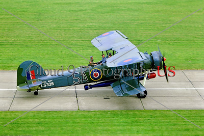 WB-Fairey Swordfish  001 A taxing Fairey Swordfish warburd in British Royal Navy markings, 1969 Lee-on-Solent, warbird picture by Stephen W  D  Wolf     853_6849     Dt