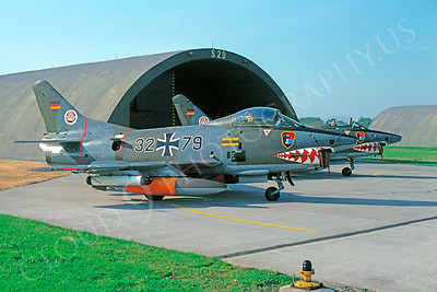 SM 00047 Fiat G91 German Air Force 3279 November 1979 by Kurt Thomsen