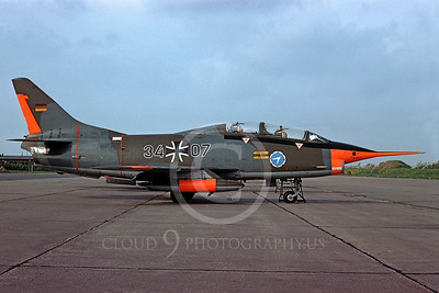 Fiat G91 00001 Fiat G91 German Air Force 3407 28 September 1975 by Ton Van Schaik