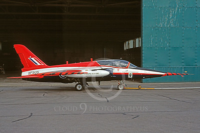 Folland Gnat 00001 Folland Gnat British RAF XP505 Royal Aircraft Establishment September 1992 via African Aviation Slide Service