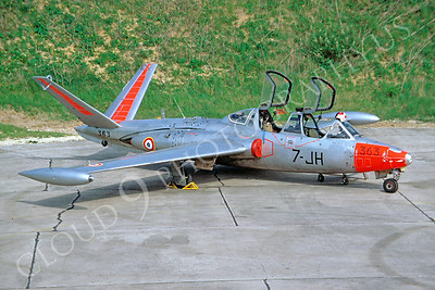 Fouga CM-170 Magister 00003 Fouga CM-170 Magister French Air Force 7-JH via African Aviation Slide Service