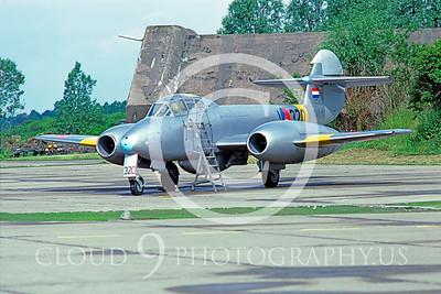 Meteor 00001 Gloster Meteor Dutch 1985 by Meinolf Krassort via AASS