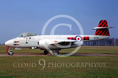 Gloster Meteor 00003 Gloster Meteor Mk ll British RAF WH364 by Peter Elliott