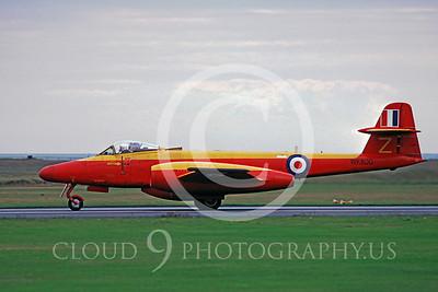 Gloster Meteor 00005 Gloster Meteor British RAF WK800 by Stephen W D Wolf