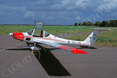 Grob Vigilant T 1 00001 Grob Vigilant T 1  British RAF ZH118 June 1997 via African Aviation Slide Service