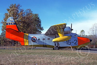 HU-16Forg 00019 A static Grumman HU-16A Albatross Italian Air Force 11-1979 military airplane picture by Richard Folsom