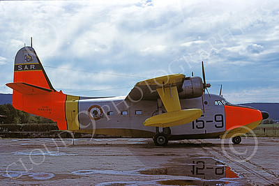 HU-16Forg 00021 A static Grumman HU-16A Albatross Italian Air Force 11-1979 military airplane picture by Malcom Carpenter