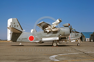 S-2Forg 00001 A static Lockheed S2F-4 Tracker JSDF 4129 136681 military airplane picture by Akira Watanabe DONEwt